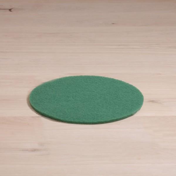 Massierpads, 13 Zoll, normale Ausführung, grün, 1 Stück