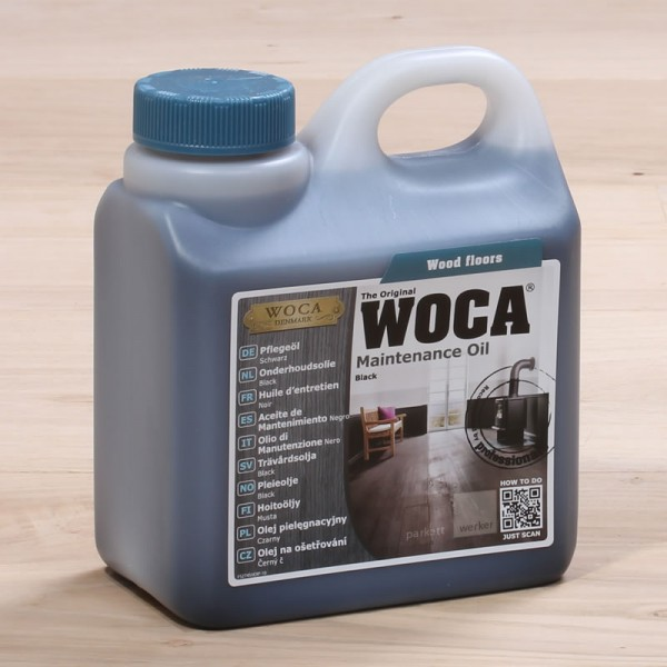 Woca Pflegeöl schwarz 1 l